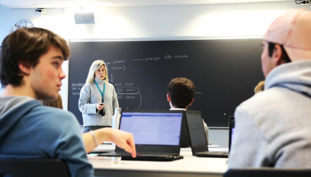 – Jeg håper flere kollegaer tør kreve og forvente gode digitale verktøy fra arbeidsgiver i tiden framover, sier lektor Helle Nyhuus ved Drammen videregående skole.