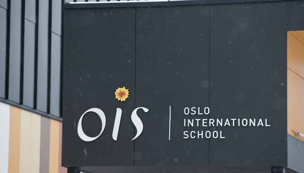 Minst 31 elever og lærere er smittet ved Oslo International School i Bærum.