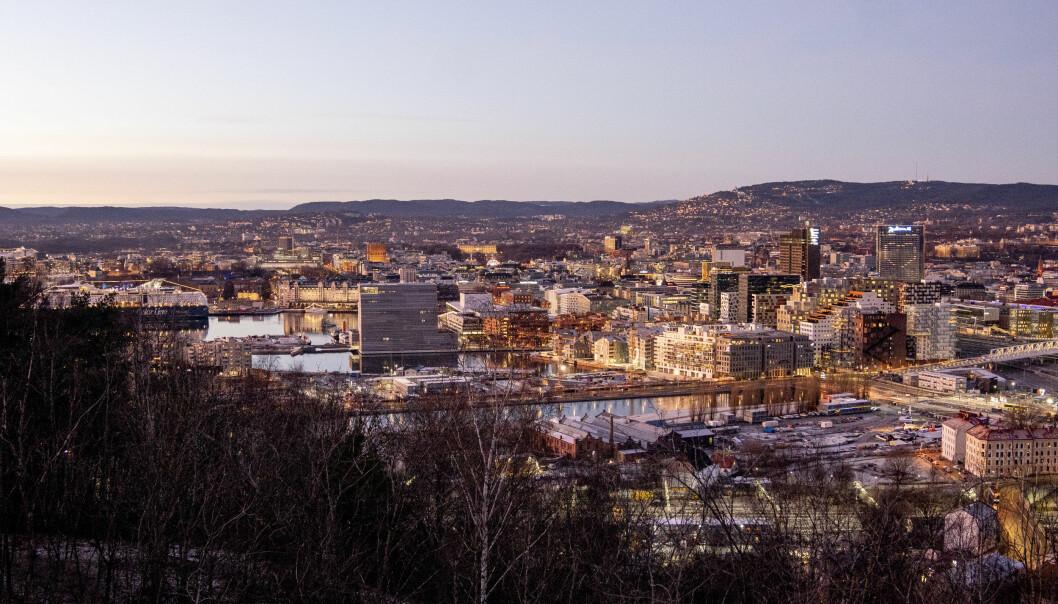 Det skal bygges ny skole i Bjørvika i Oslo. Den skal få skolegården på taket.