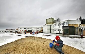 Det er flere ettåringer i barnehagene nå enn før