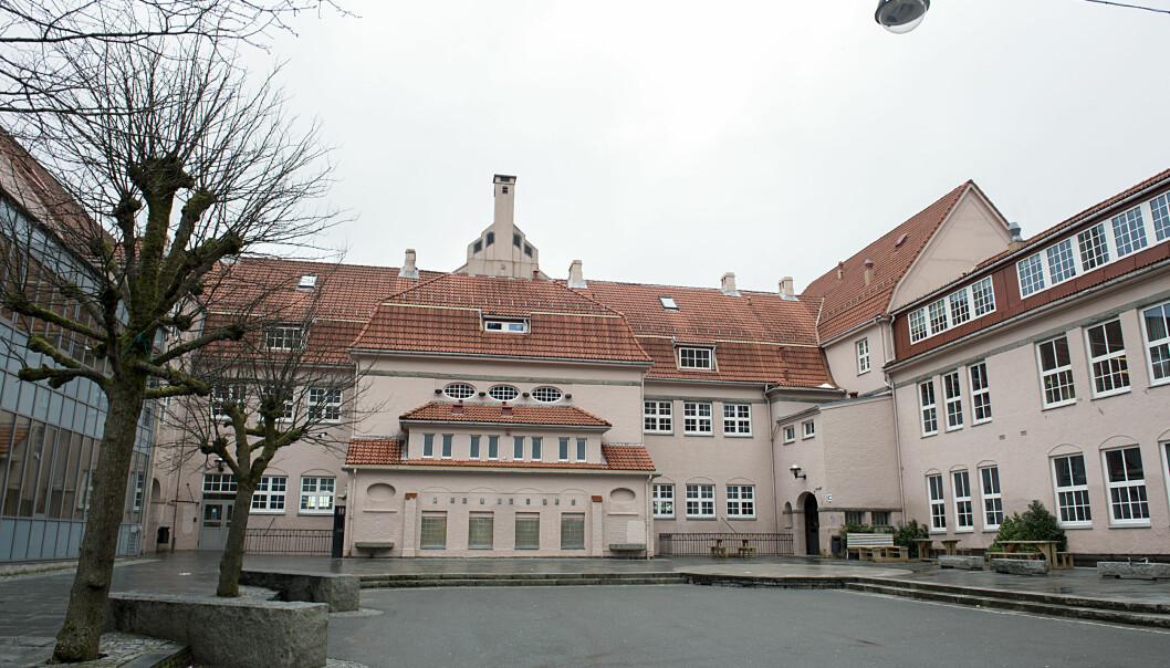 Rothaugen skole er stengt grunnet koronaviruset.