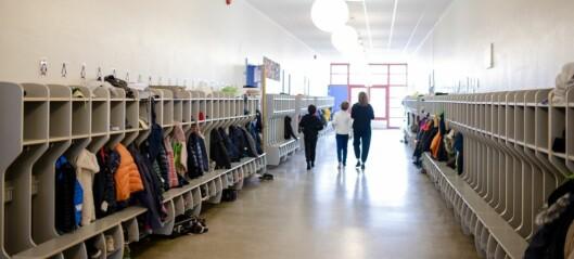 Melby oppfordrer skolene til å leie flere lokaler