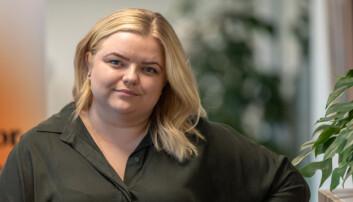 Leder for Pedagogstudentene, Elise Håkull Klungtveit.