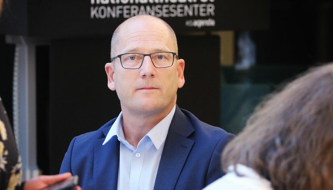 Leder i Utdanningsforbundet, Steffen Handal, er mektig provosert over lønnsutspillet fra NHO.