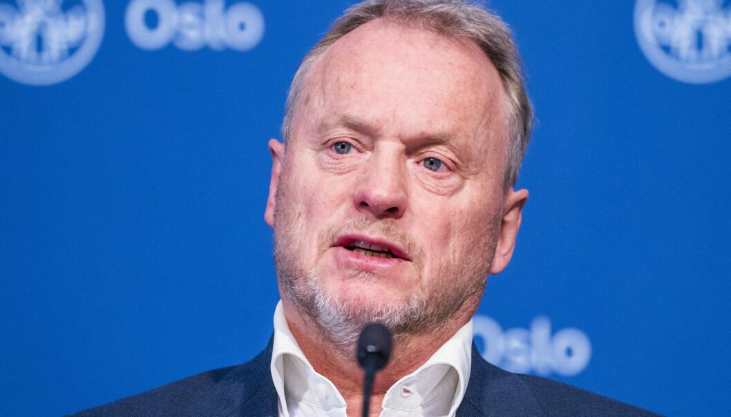 Oslos byrådsleder Raymond Johansen (Ap) vurderer strengere tiltak i Oslo.