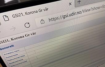 Ekstra datainnhenting til GSI starter denne uken