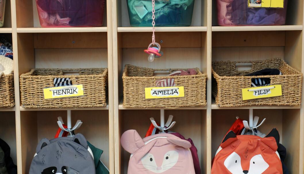 Før trillingene Henrik, Filip og Amelia begynte i barnehagen, skrev foreldrene et brev og fortalte om barnas ulike behov. Det synes de ansatte var nyttig å lese.