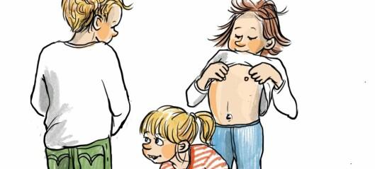 Dette er forskjellen på normal og unormal seksuell lek hos barn