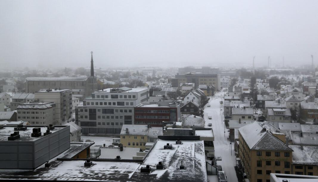 Smittetallet i Bodø er fortsatt høyt.