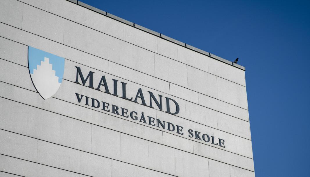 Elevene ved Mailand videregående og alle de andre videregående skolene i Lørenskog får heldigital undervisning til og med uka etter påske.