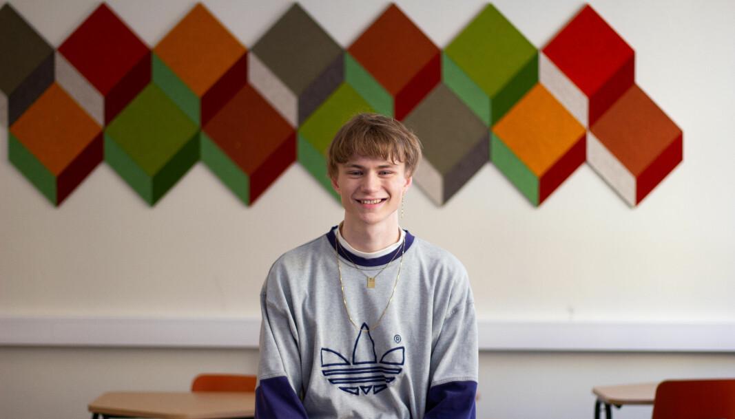 Lokal inntaksordning i videregående blir en av flere kampsaker for nyvalgt leder Edvard Botterli Udnæs.