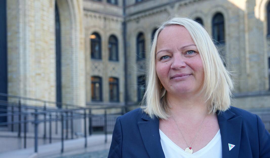 Mona Fagerås (SV) kan ikke se at friskoleloven har gitt elevene større valgfrihet.