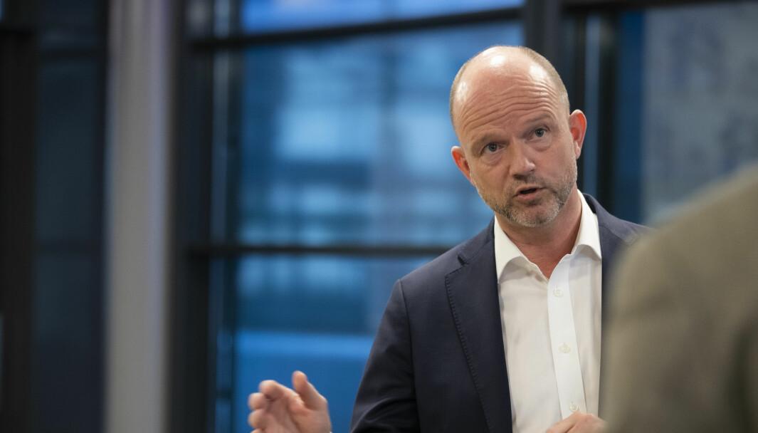 NHOs administrerende direktør Ole Erik Almlid.