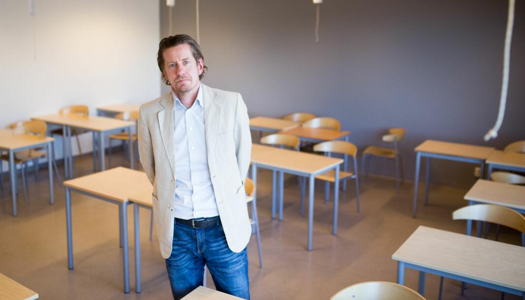 Lektor Åge Hvitstein sier han frykter konsekvensene av fullføringsreformen.