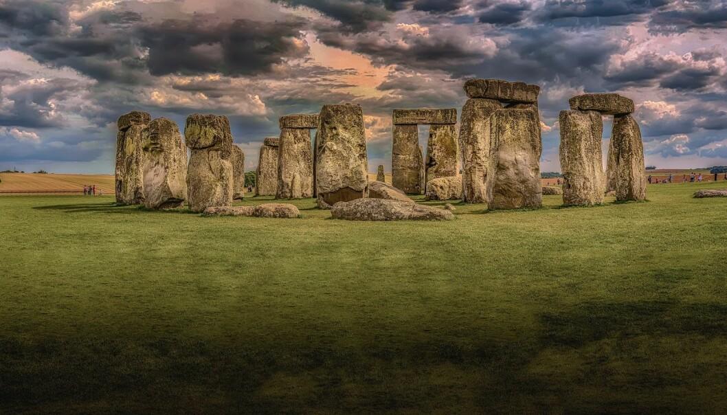 Stonehenge-monumentet i Wiltshire, Storbritannia.