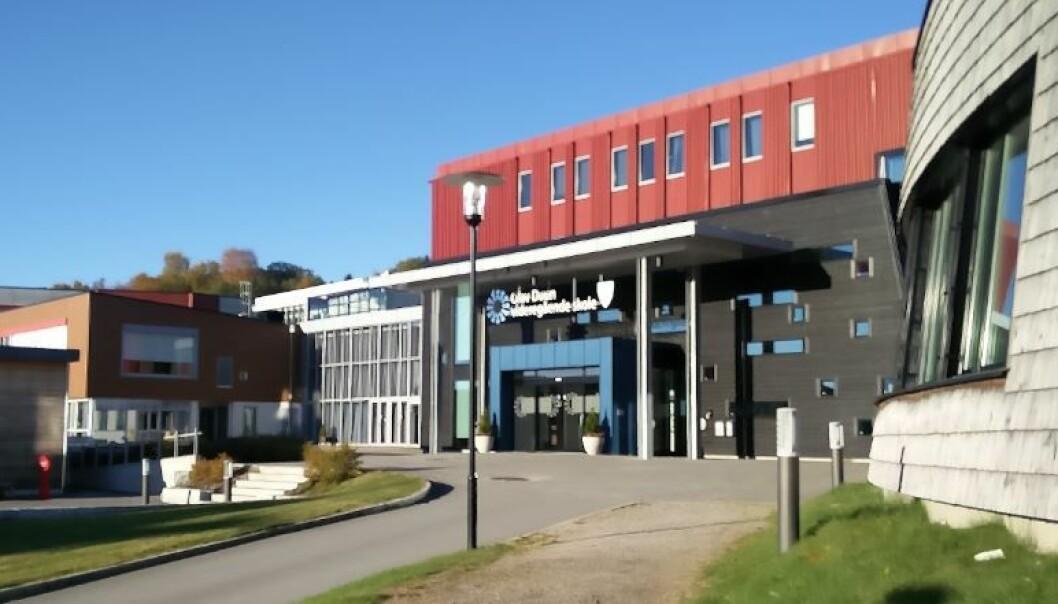Olav Duun videregående skole.