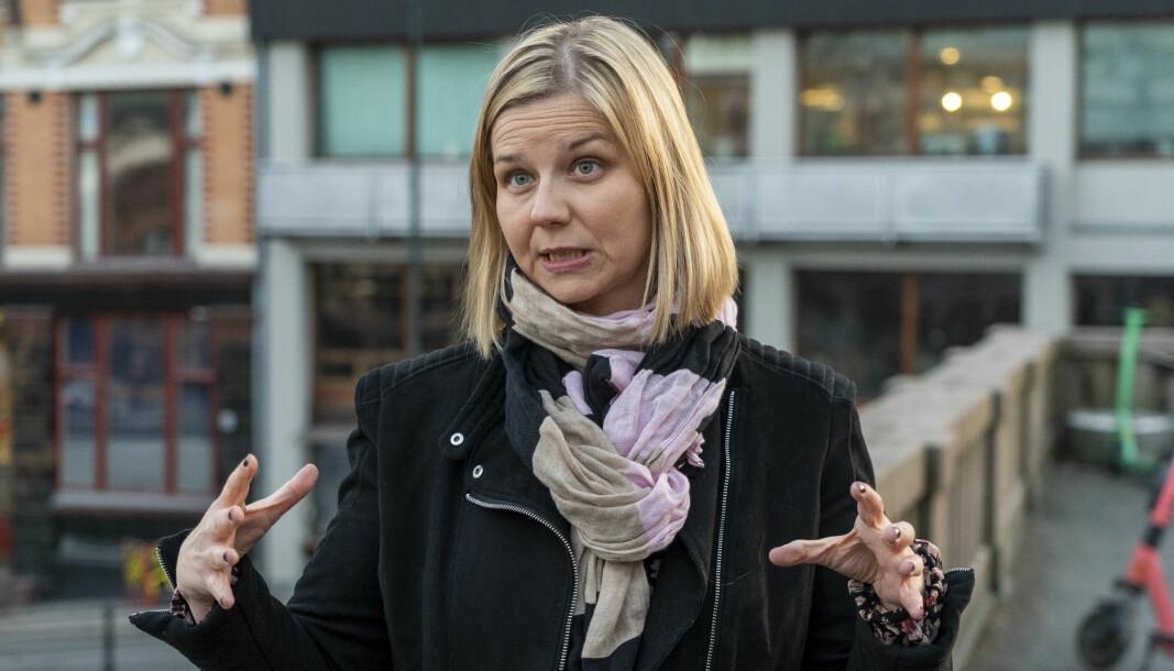 Kunnskapsminister Guri Melby og regjeringen skroter ideen om et nytt fellesfag i videregående skole.
