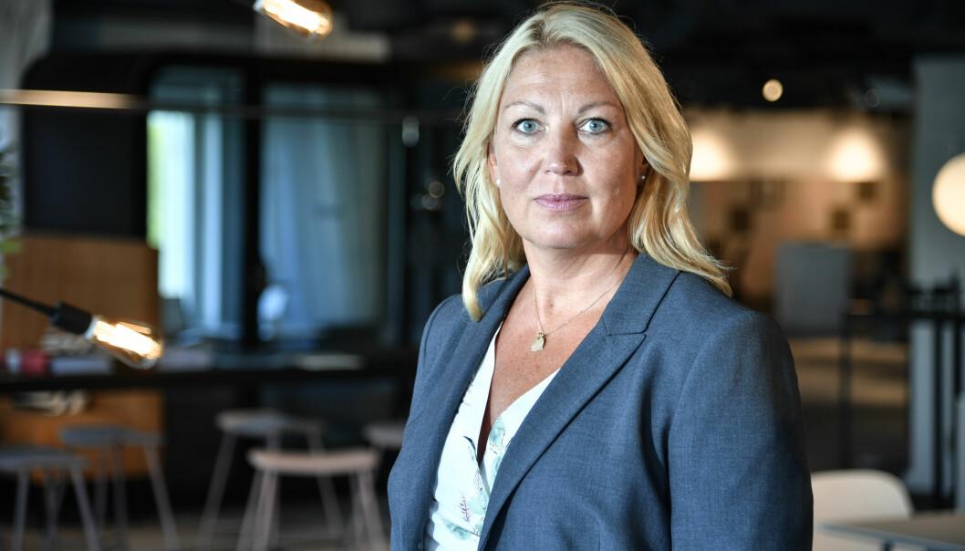 Johanna Jaara Åstrand leder for svenske Lärarförbundet.
