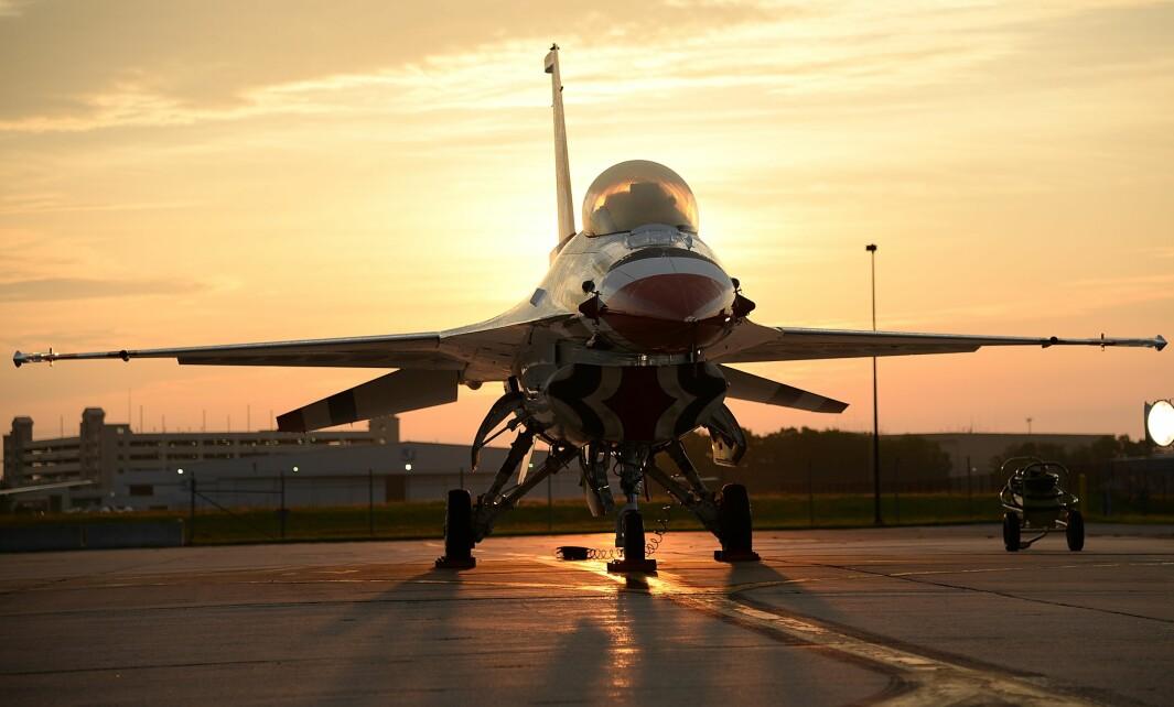 General Dynamics F-16 Fighting Falcon er et amerikansk kampfly. F-16 er det mest tallrike nåværende vestlige kampflyet, med over 4 000 fly produsert siden 1976. Flyet ble bestemt innkjøpt til det norske Luftforsvaret i 1975, og første fly ankom Rygge flystasjon 15. januar 1980. Norge har hatt 74 av denne typen kampfly.