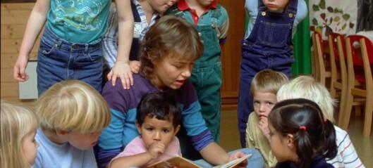 Slik kan små barn få et forsprang med språket når de begynner på skolen