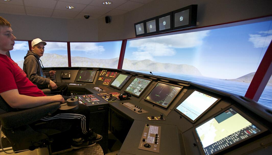 Illustrasjonsfoto fra Nordkapp maritime fagskole