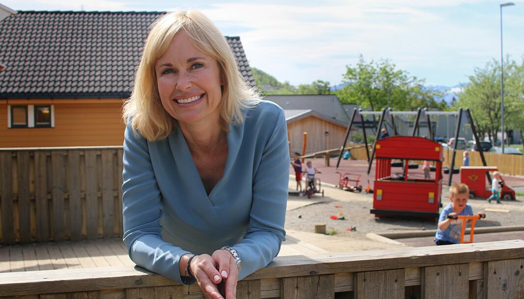 Anne Lindboe, administrerende direktør i PBL (Private Barnehagers Landsforbund).