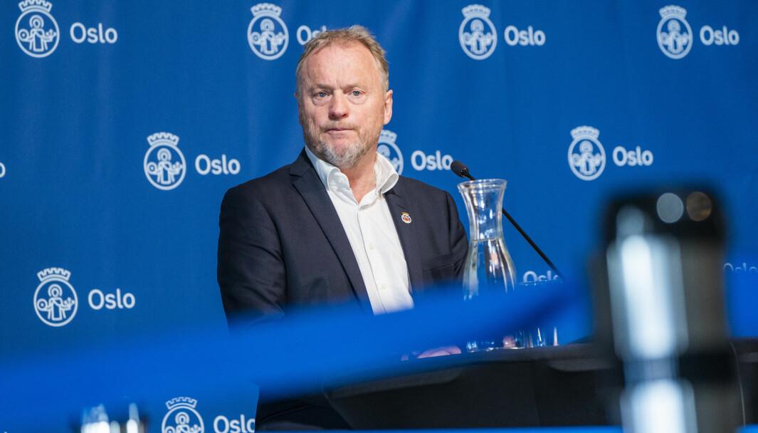 Byrådsleder Raymond Johansen (Ap).