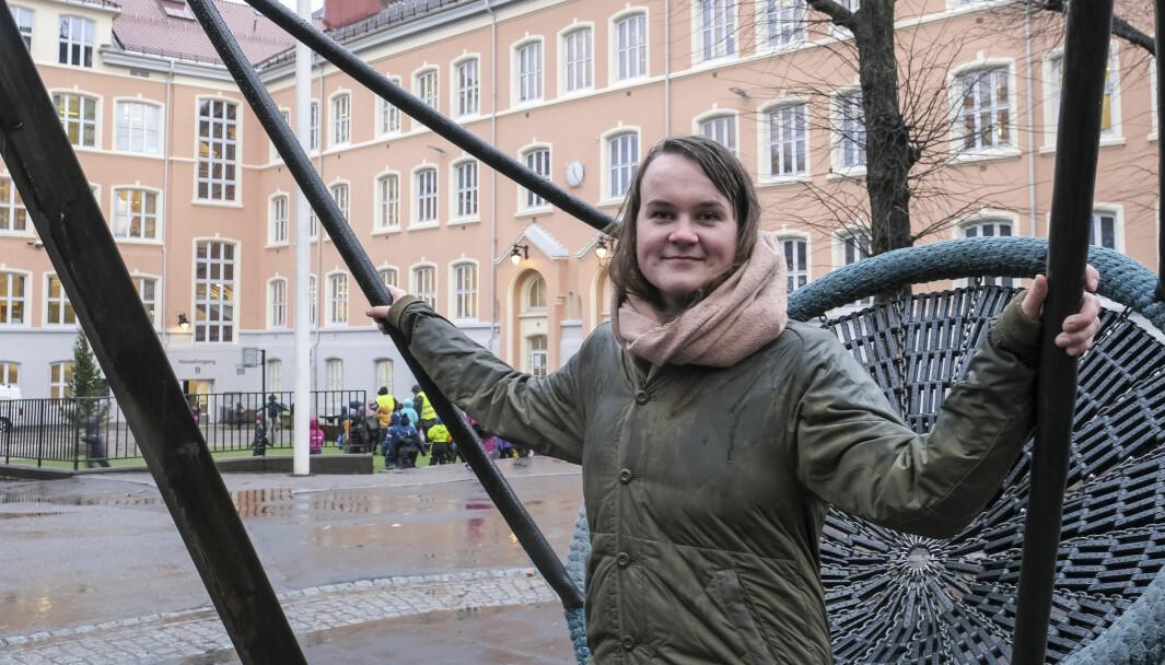 Marit Knutsdatter Strand (Sp), medlem av Utdannings- og forskningskomitéen.