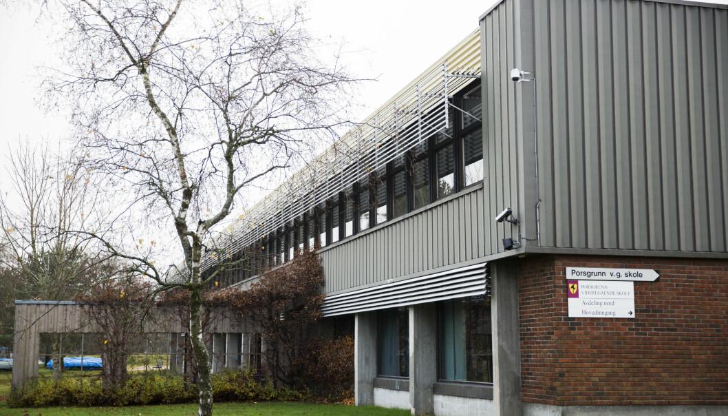 Det er innført digital undervisning på videregående skoler i Porsgrunn og Skien ut uka.