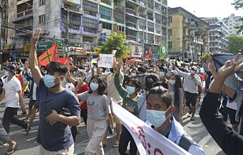 Tusenvis av lærere suspendert i Myanmar