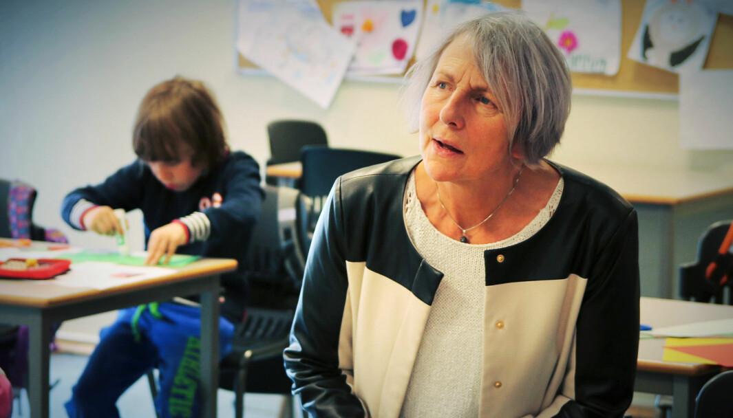 Etter åtte år sier Anne Finborud (66) takk for seg som leder for Skolenes landsforbund.