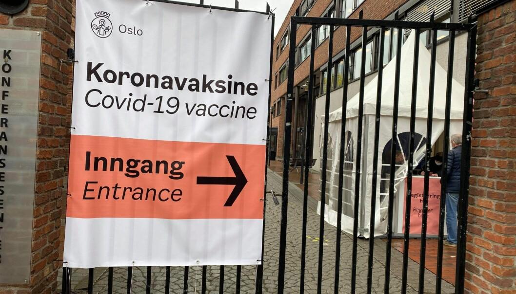 Vaksinering Vaksinestasjon