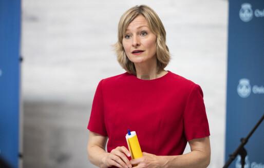 Inga Marte Thorkildsen (SV) trer ut av byrådet