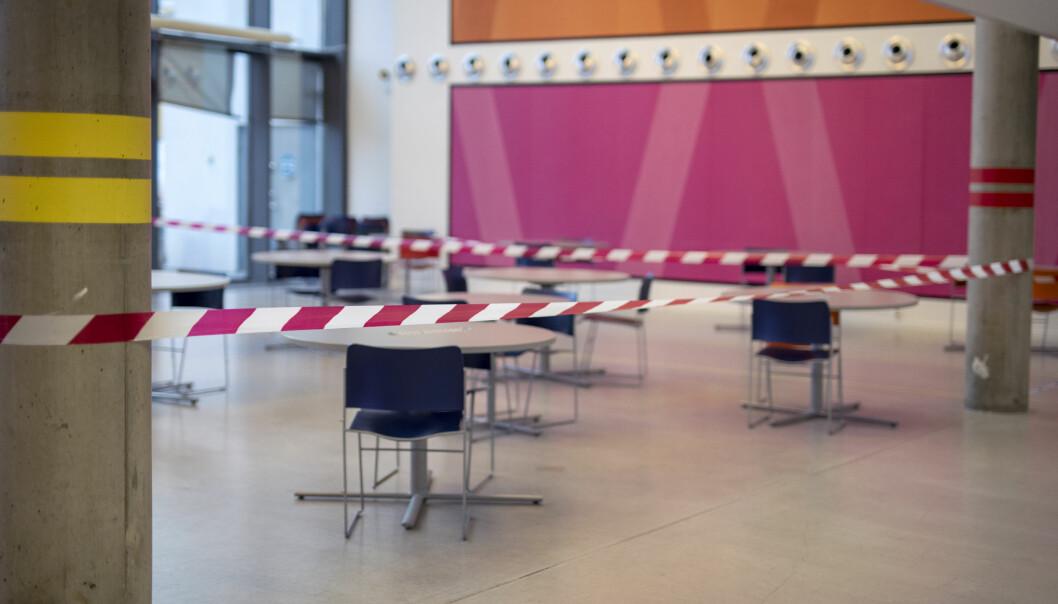 Stengte videregående skoler åpner igjen i dag. Foto: Maja Ljungberg Bjåland