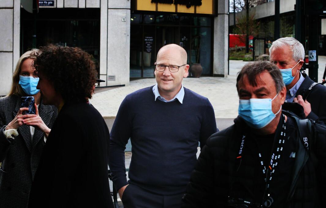 Steffen Handal er forhandligsleder for Unio.