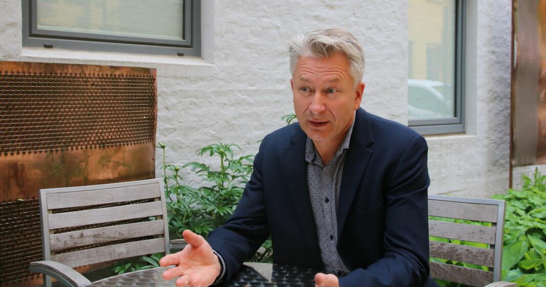 Tormod Korps, sentralstyremedlem i Utdanningsforbundet.