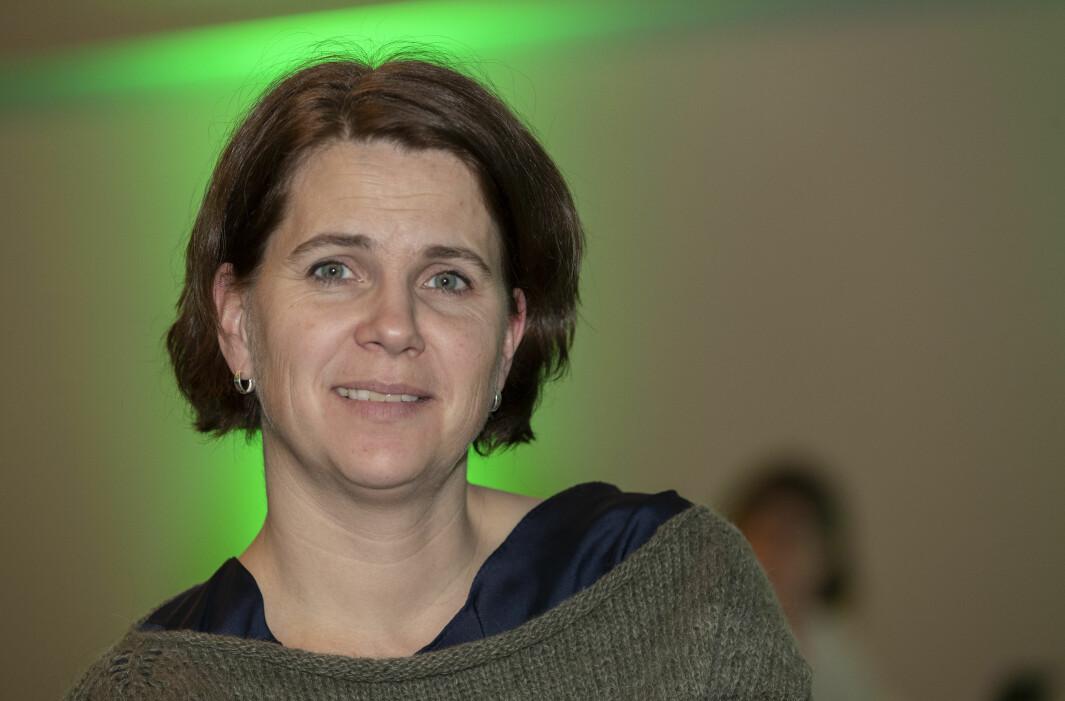– Det vil ha en enorm betydning både for ungdommer og for voksne som av ulike grunner ikke har fullført videregående opplæring, sier Venstres Solveig Schytz, her på partiets landsmøte i fjor høst.