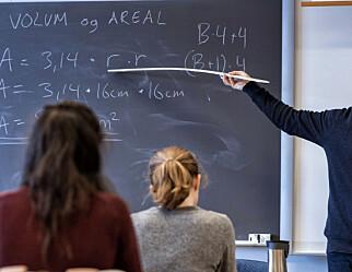 Ingen endring i sammenheng mellom karakterer og utdannelse hos foreldre