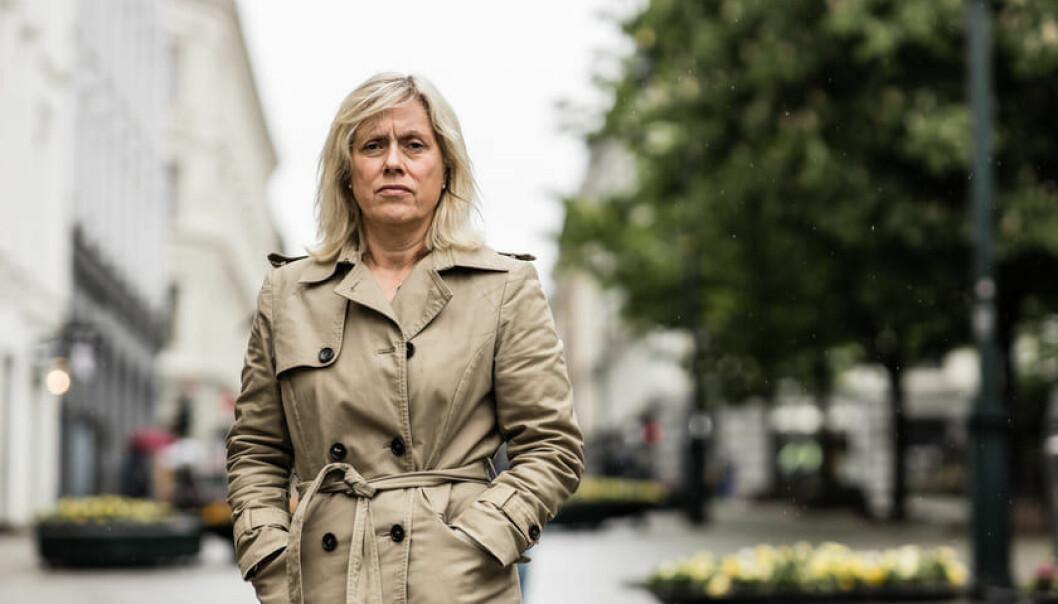 Helle Christin Nyhuus, fungerande leiar i Norsk Lektorlag