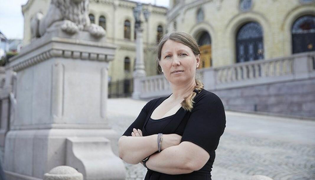 Guro Elisabeth Lind, forhandlingsleder for Unio stat.