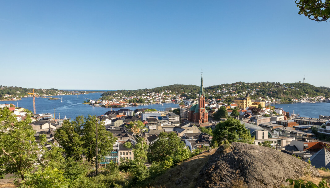 Arendal by.