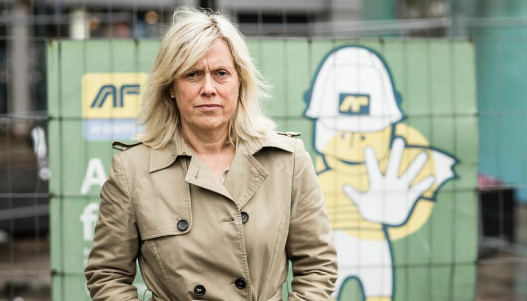 Konstituert leder i Norsk Lektorlag, Helle Christin Nyhuus.