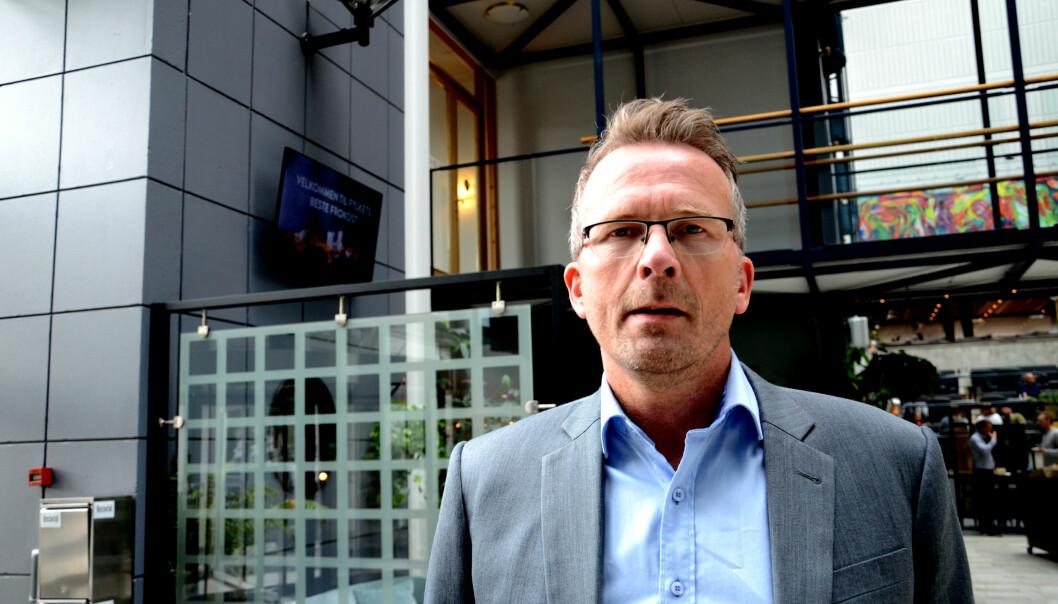 Geir Røsvoll, leder for Utdanningsforbundet Trøndelag.