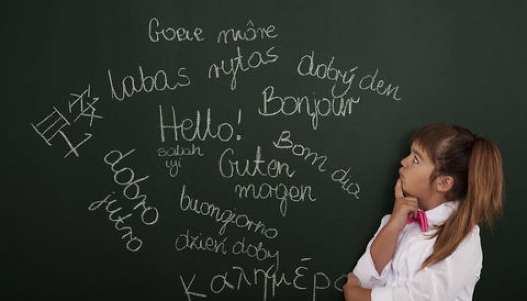 På gruppenivå ligger tospråklige barn fortsatt bak sine enspråklige jevnaldringer i norskferdigheter når de går i femte klasse,
