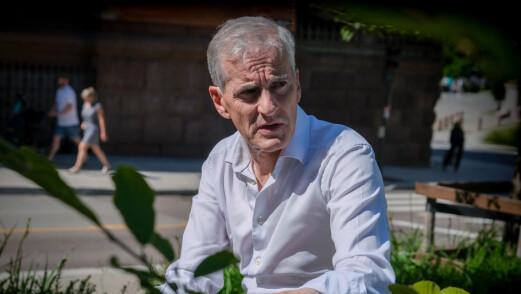 Ap-leder Jonas Gahr Støre: – Vi er på vei mot en alvorlig situasjon i skolen