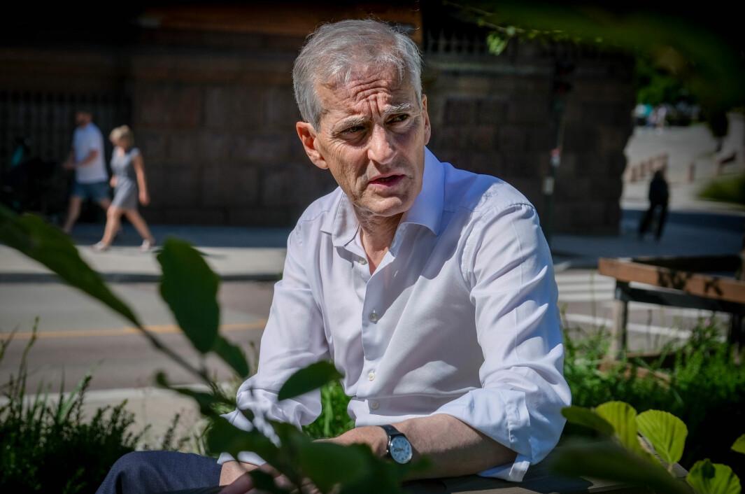 Ap-leder Jonas Gahr Støre er klar til kamp inn mot stortingvalget.