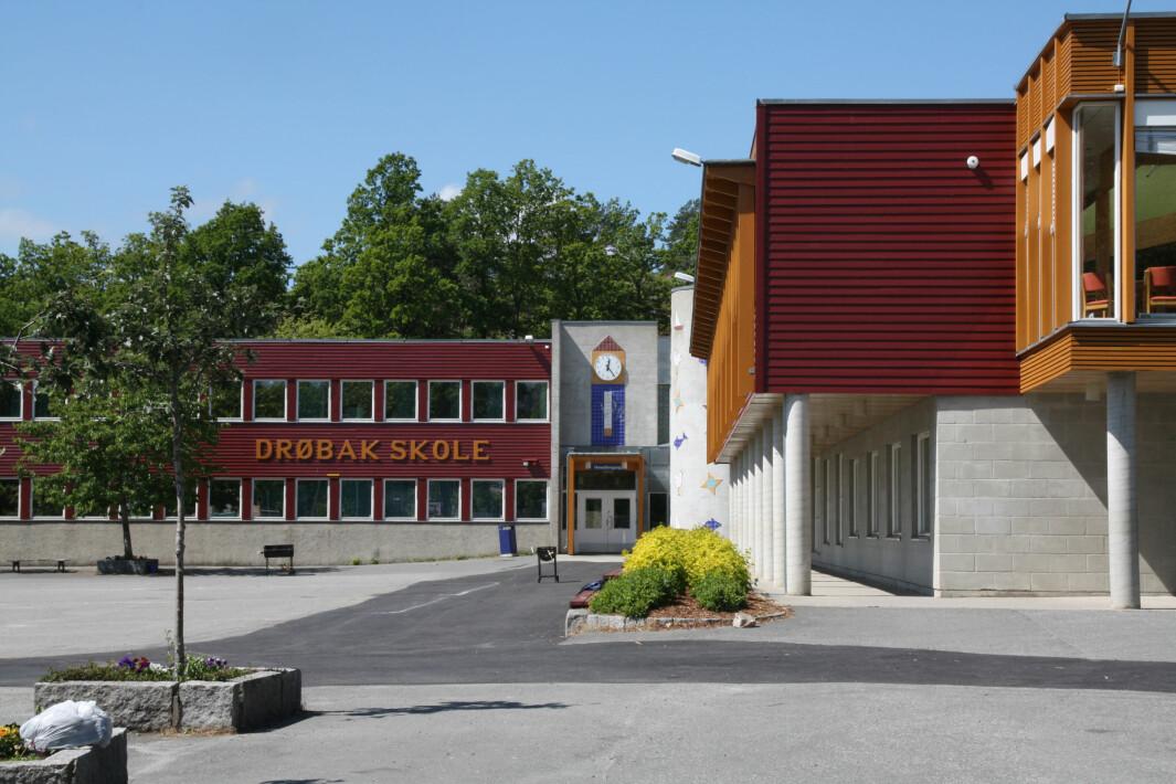 Drøbak skole.