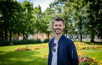 Rødt-leder Bjørnar Moxnes: Vil sette av likelønnspott for å få opp lærerlønna