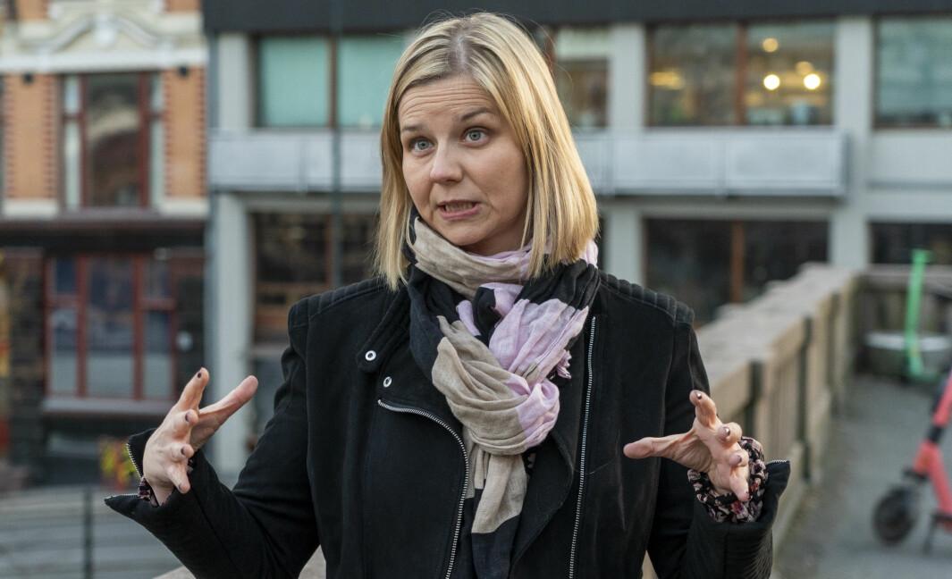 Kunnskaps- og integreringsminister Guri Melby (V).