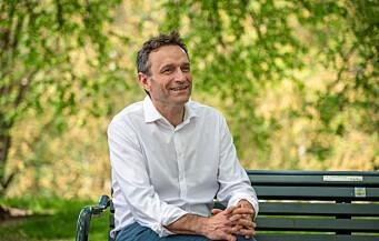 MDG-nestleder Arild Hermstad:Ønsker politisk makt, men vil ikke være andre partiers miljøalibi